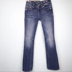 MissMe Mid Rise Boot Jeans